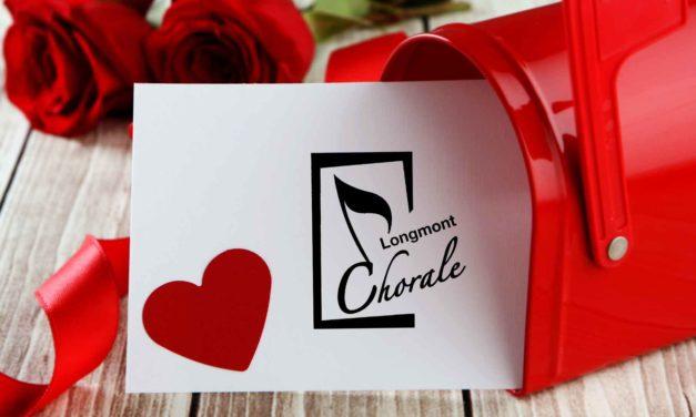 Longmont Chorale: Love Notes – Feb. 11