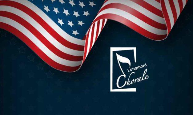 Longmont Chorale: Indoor Patriotic Performance – July 1