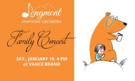 Longmont Symphony Family Concert – Jan. 19
