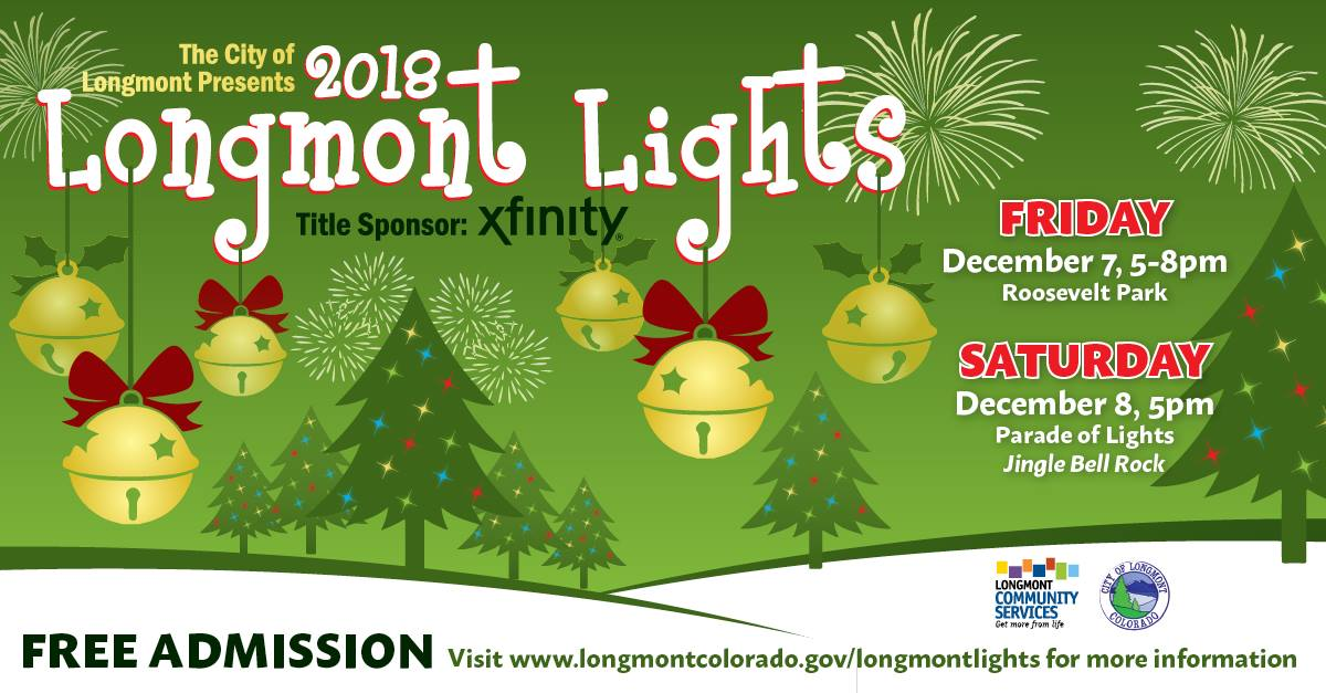 Longmont Concert Band: Longmont Lights – Dec. 7
