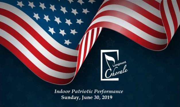 Longmont Chorale: Indoor Patriotic Performance – June 30