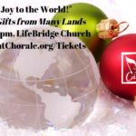 """Longmont Chorale: Sing """"Joy to the World!"""", Musical Gifts from Many Lands – Dec 8"""