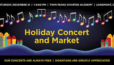 Longmont Concert Band: Holiday Concert and Market – Dec 21