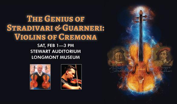 Longmont Symphony: Violins of Cremona – Feb 1