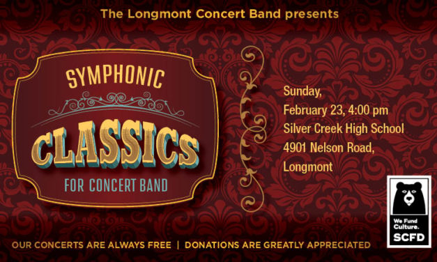 Longmont Concert Band: Symphonic Classics for Concert Band – Feb 23