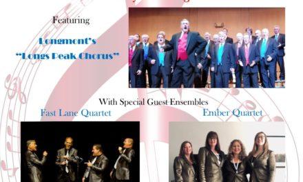 "(Cancelled) Longs Peak Chorus: Changing Lives Through Music, ""Why We Sing""- Apr 18"